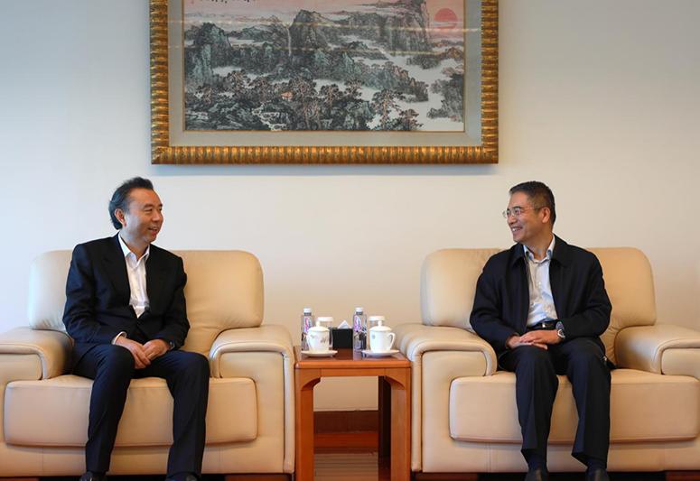 五粮液董事长李曙光拜访中国工商银行总行