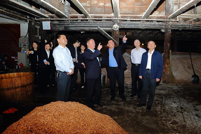四川省市场监督管理局党组书记罗凉清率队调研
